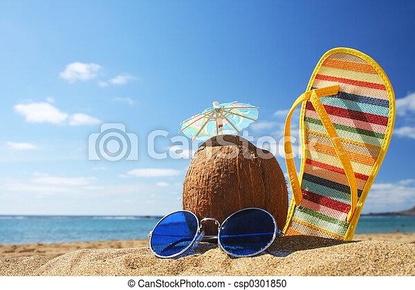 été, scène plage - csp0301850