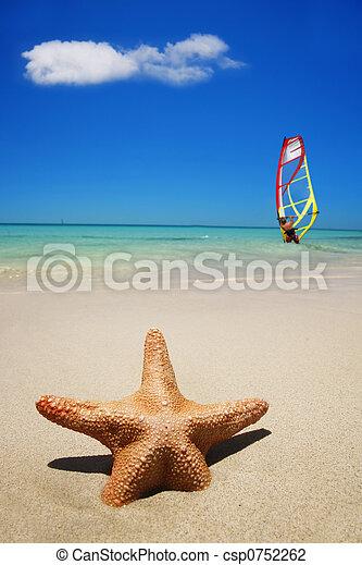 été, scène plage - csp0752262