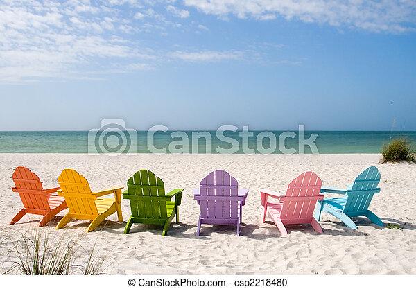 été, vacances plage - csp2218480