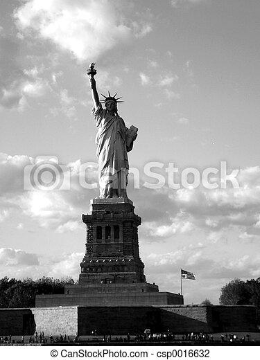 2, statue, liberté - csp0016632