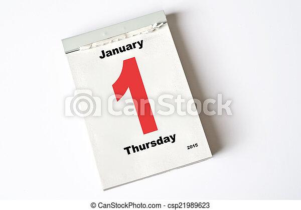 2015, janvier, 1. - csp21989623