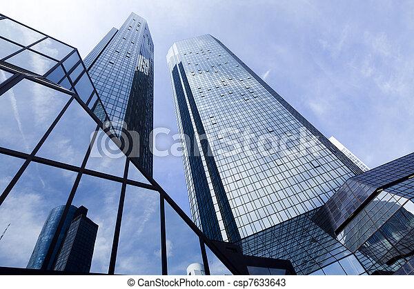 affaires modernes, bâtiment - csp7633643