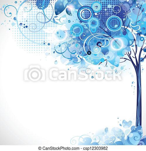 arbre, tendre - csp12303982