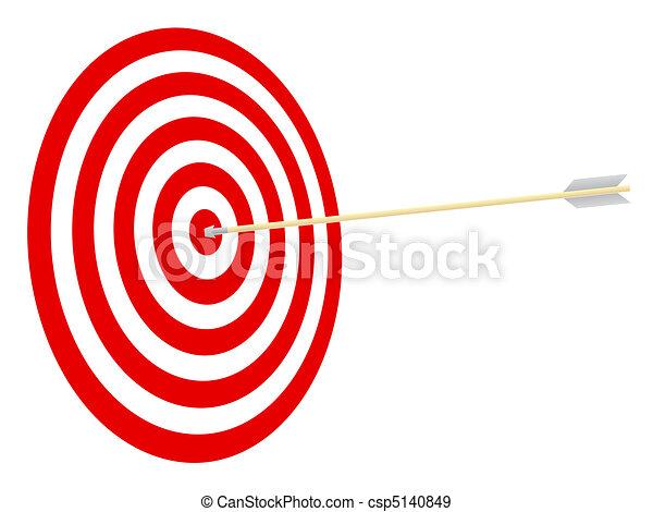 arrow., cible - csp5140849
