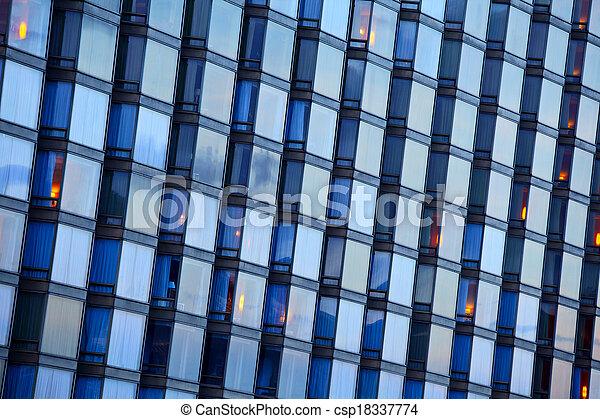bâtiment extérieur - csp18337774