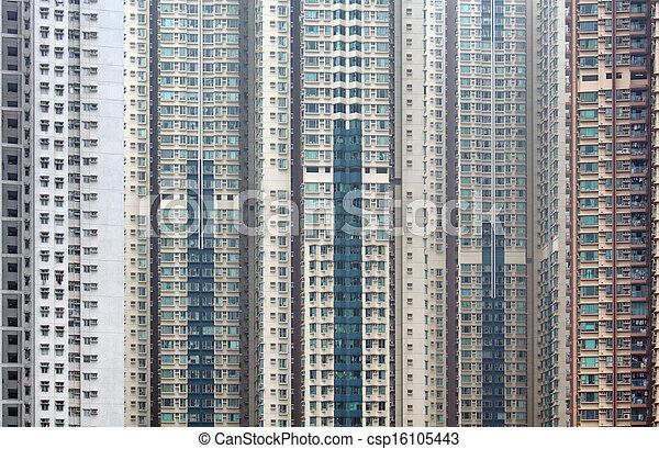bâtiment extérieur - csp16105443