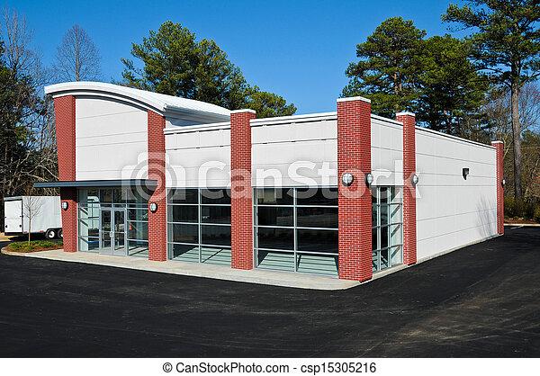 bâtiment, nouveau, commercial - csp15305216