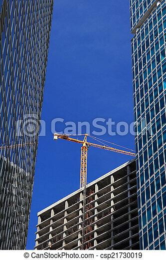 bâtiment, nouveau, construction - csp21730019