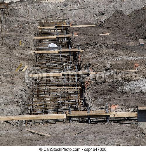 bâtiment, nouveau, construction - csp4647828