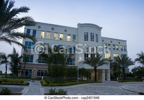 bâtiment, nouveau, floride, bureau - csp2401946