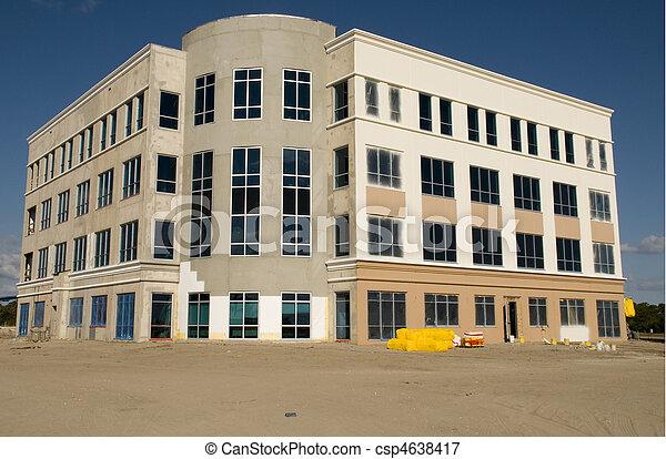 bâtiment, nouveau, floride, bureau - csp4638417