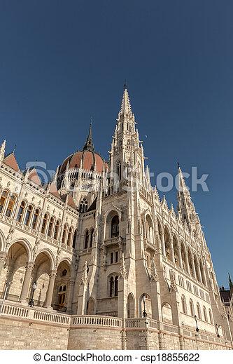 bâtiment, parlement, hongrois - csp18855622