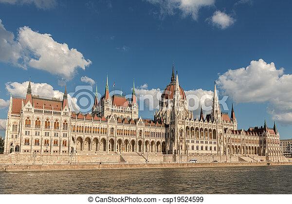 bâtiment, parlement, hongrois - csp19524599
