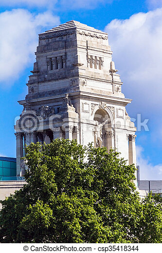 bâtiment, ville, angleterre, autorité, londres, port, maison, ancien, trinité - csp35418344
