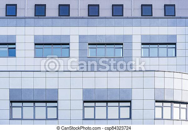 bureau, bâtiment., nouveau, extérieur - csp84323724