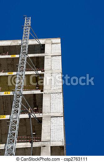 construction bâtiments, bureau - csp2763111