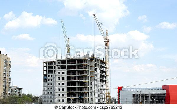 construction bâtiments, bureau - csp2763243