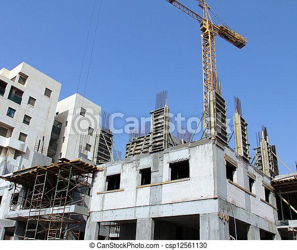 construction bâtiments - csp12561130