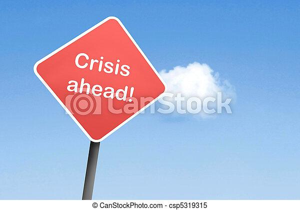 crise, devant - csp5319315