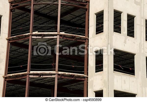 détail bâtiment, bureau - csp4593899