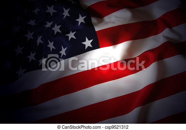 drapeau, nous - csp9521312