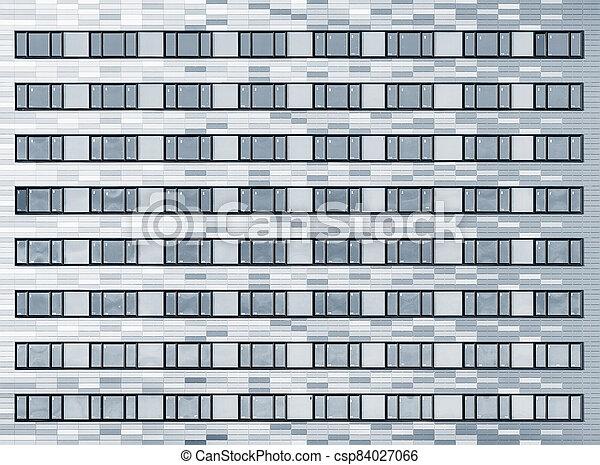 extérieur, nouveau, bâtiment., bureau - csp84027066