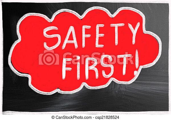 first!, sécurité - csp21828524