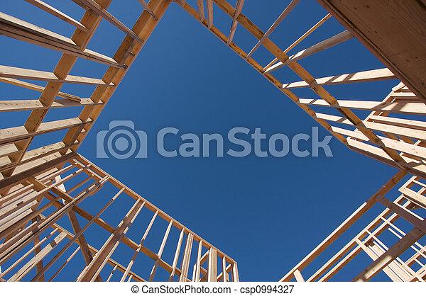 framing., construction maison - csp0994327