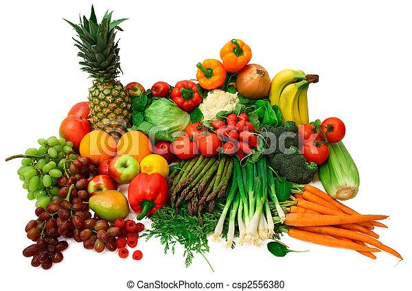 fruits, légumes frais - csp2556380