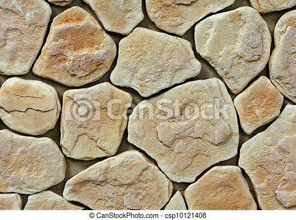 grand, mur, texture pierre - csp10121408