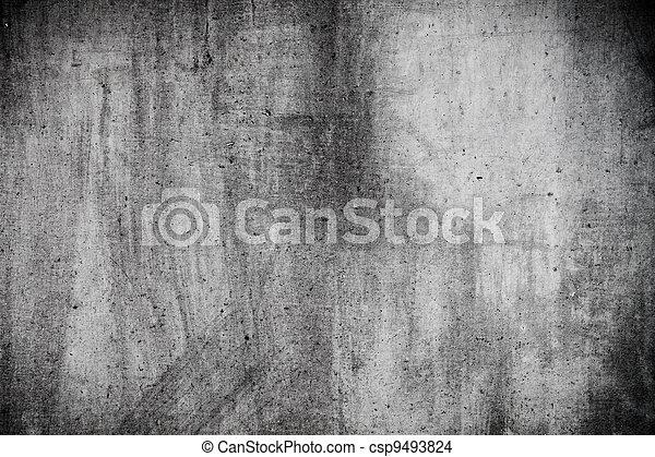 grunge, texture, mur, utile, gris - csp9493824