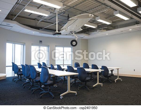 intérieur, bâtiment, bureau - csp2401950