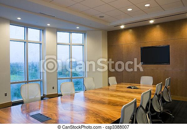 intérieur, bâtiment, bureau - csp3388007