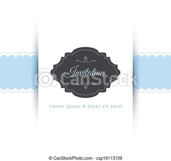 invitation - csp16113109