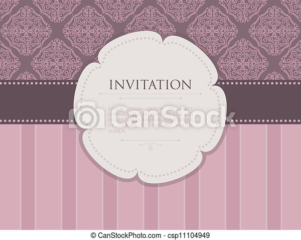 invitation - csp11104949