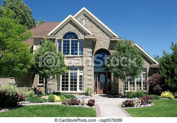 logement, contemporain - csp0076289