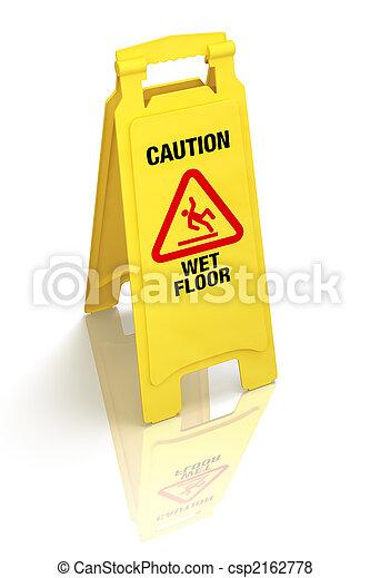 """mouillé, signe, floor"""", """"caution, - - csp2162778"""