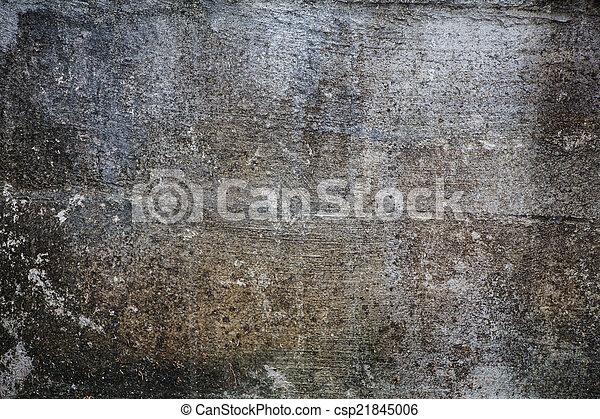 mur, grunge, gris, textured - csp21845006