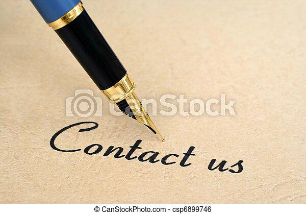 nous contacter - csp6899746