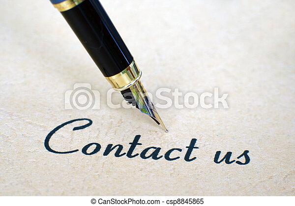 nous contacter - csp8845865