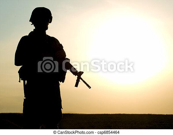 nous, soldat - csp6854464