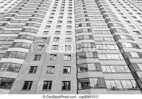nouveau, appartement, extérieur, bâtiment. - csp60651011