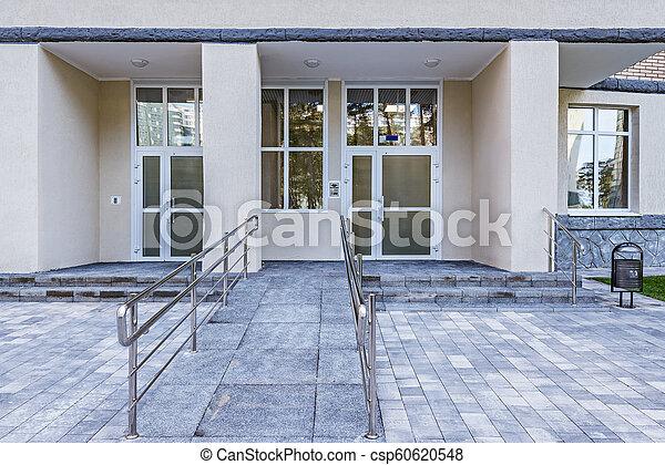nouveau, appartement, extérieur, bâtiment. - csp60620548