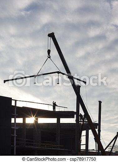 nouveau, construction bâtiments - csp78917750