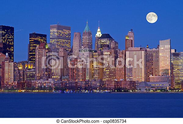 nouveau, horizon, york, th, ville - csp0835734