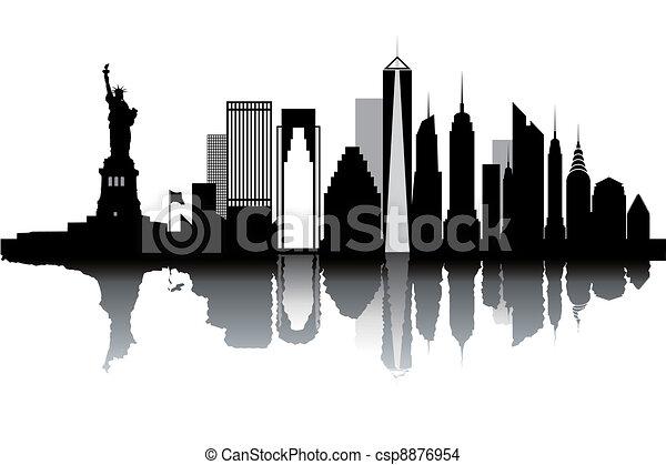 nouveau, horizon, york - csp8876954