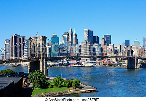 nouveau, horizon, york, ville - csp0827571