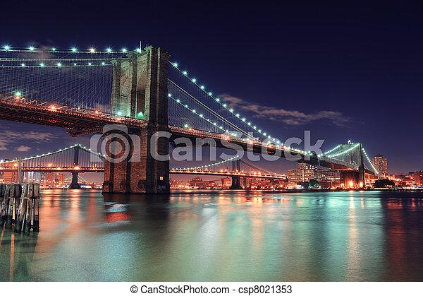 nouveau, ville, manhattan, york - csp8021353