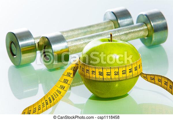objets, fitness - csp1118458