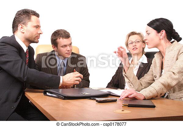 personnes, réunion, 4 - csp0178077